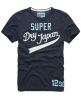 Superdry Simple Swoosh T-shirt Navy