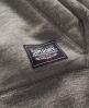 Superdry Core Applique Hoodie Dark Grey