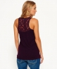Superdry Super Sewn Rugged Lace Pocket Tanktop Lila