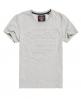 Superdry Premium Goods T-Shirt mit Prägung Hellgrau