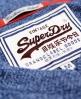 Superdry Orange Label Vee Neck Blue