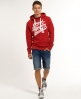 Superdry Number 1 Co. Hoodie Red