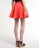 Superdry Premium Scuba Skater Skirt Orange