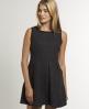 Superdry Grace Tweed Dress Dark Grey