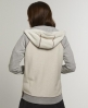 Superdry Training Crew Cut Hoodie Cream