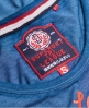 Superdry Tri League Maxikleid  Marineblau