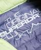 Superdry Cazadora con capucha y cremallera doble Slim Fuji Verde