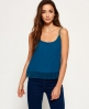Superdry Castaway Lacy Cami Top Turquoise