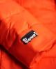 Superdry Cazadora con cremallera doble y capucha Fuji Slim  Rojo