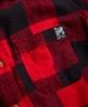 Superdry Super Slub Boyfriend Shirt Red