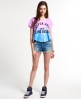 Superdry Ombre Miami T-shirt Blue