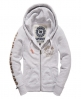 Superdry State Athletics Hoodie Light Grey