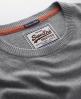 Superdry Orange Label Crew Light Grey