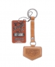 Superdry Standard Key Fob Brown
