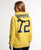 Superdry Athletics High Hoodie Yellow
