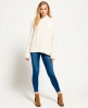 Superdry Kiki Cable Knit Jumper Cream