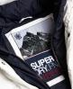 Superdry Cazadora Glacier Biker Blanco