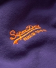 Superdry Orange Label Zip Hoodie Purple