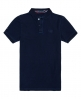 Superdry Classic Indigo Pique Polo Shirt  Navy
