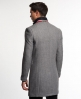 Superdry Stock Coat Light Grey
