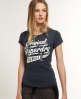 Superdry Number 1 Co T-shirt Navy
