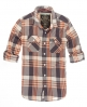 Superdry Lumberjack Twill Shirt Orange