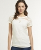 Superdry Isabella T-shirt Cream