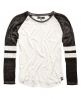 Superdry Essentials Burnout Football T-shirt White