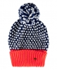 Superdry Spot Pop Colour Beanie Marineblau