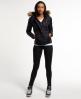 Superdry Fuji Slim Double Zip Hood Jacket Black