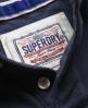 Superdry Twist Yarn Pique Polo Navy