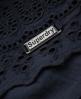 Superdry Broderie Skirt Navy