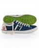 Superdry Hammer Rough Suede Shoe Blue