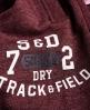 Superdry Trackster Jogginghose ohne Bündchen Rot