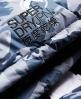Superdry Retro Chevron Down Puffer Jacket Grey