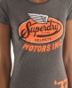 Superdry Crashlid T-shirt Dark Grey