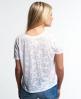 Superdry Daisy Burnout T-Shirt Weiß