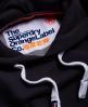 Superdry Sudadera con capucha Orange Label Marino