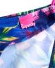 Superdry Painted Hibiscus Bikinihöschen Marineblau