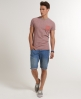 Superdry Grindle Stripe T-shirt Red
