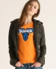 Superdry Super 8 T-shirt Orange
