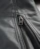 Superdry Dip Dye Biker Jacket Grey