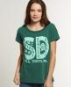 Superdry Locket T-shirt Green