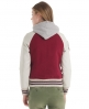 Superdry Stadium Mix Jacket Red