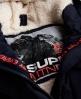 Superdry Military Everest Coat Navy