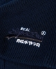 Superdry Basic Tonal Embroidery Beanie Navy