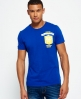 Superdry Limited Edition Modern Soccer T-shirt Blue