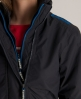 Superdry Pop Zip Windcheater Dark Grey