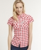 Superdry Peached Western Shirt Pink