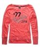 Superdry Burnout Saint T-shirt Pink